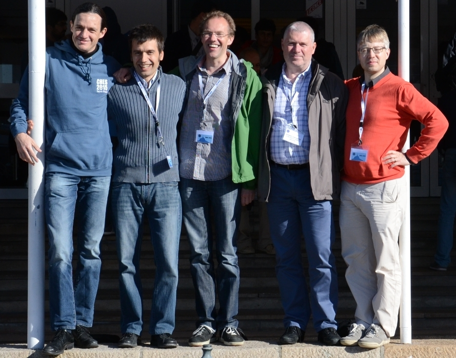The Keccak team at CHES 2015